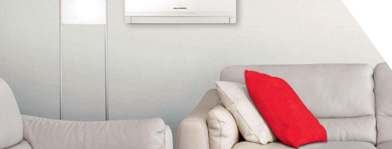 sistema ibrido VRF per riscaldamento, raffrescamento e ACS