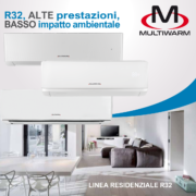 serie residenziale MW R32